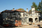 #54 Hacienda with eyebrow archways (stucco ready) - Rock Ridge Dev. NJ.