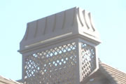 False Chimney w/ lattice serving as a base for #8 Prince - Kevin Kraich, Rio Grande Co. - Breckenridge, CO.