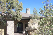 #58B Rock house in Rock ready finish with slate ready roof. Arizona.