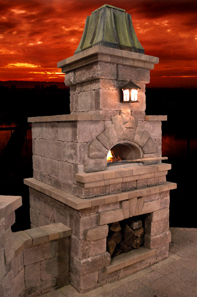 Chimney King Outdoor Fireplace And Pizza Oven Gallery
