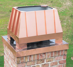 Chimney Cap Finish Selection