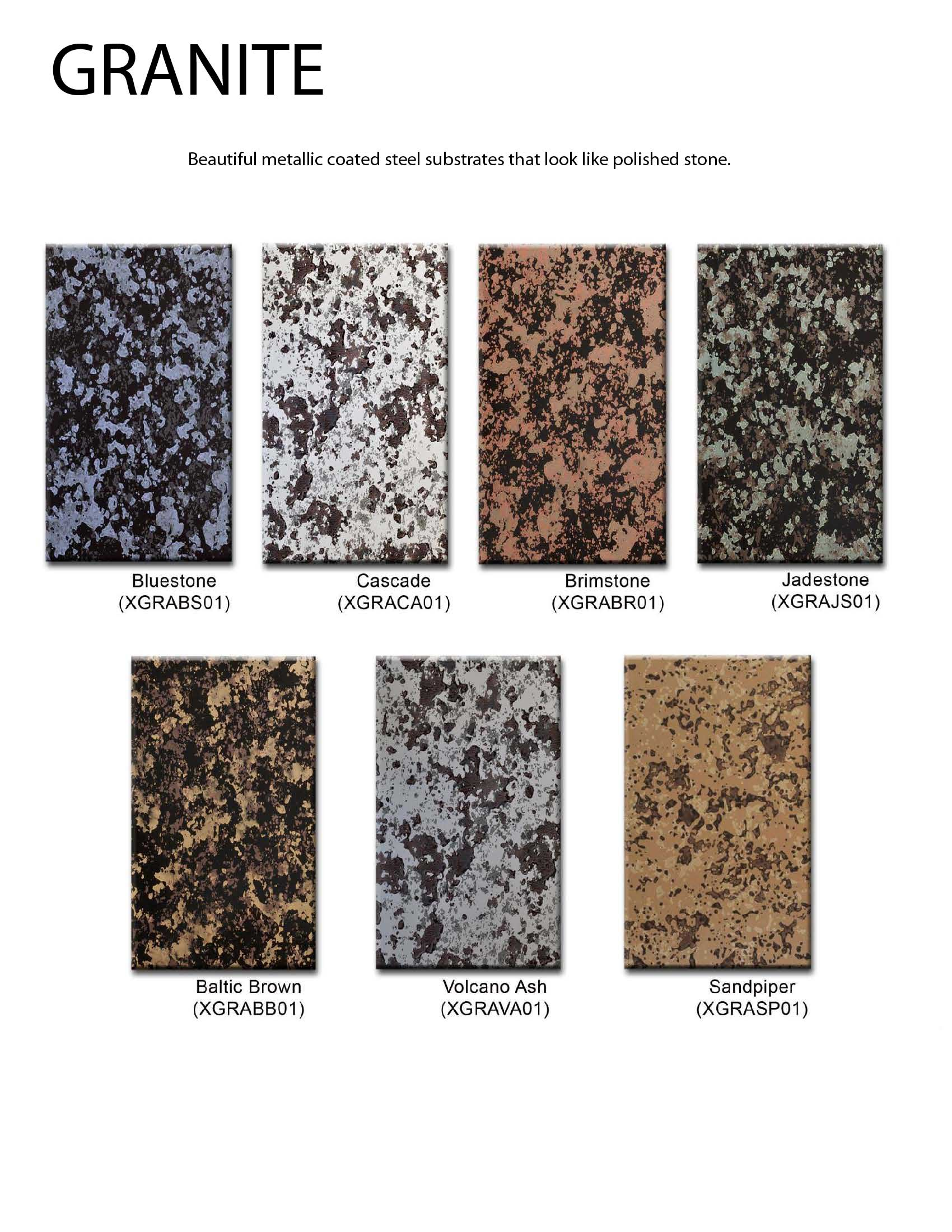 Chimney king color charts for Granite countertops colors price